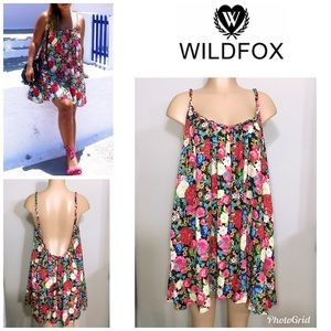 WILDFOX floral dress. NWT